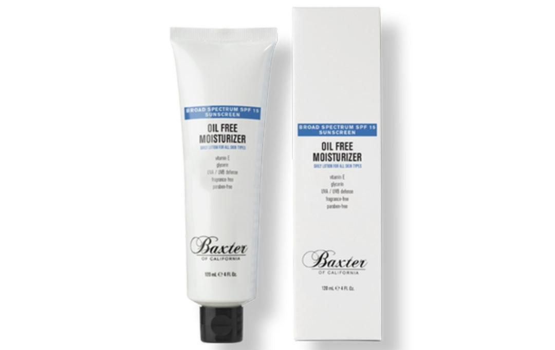 baxter moisturizer