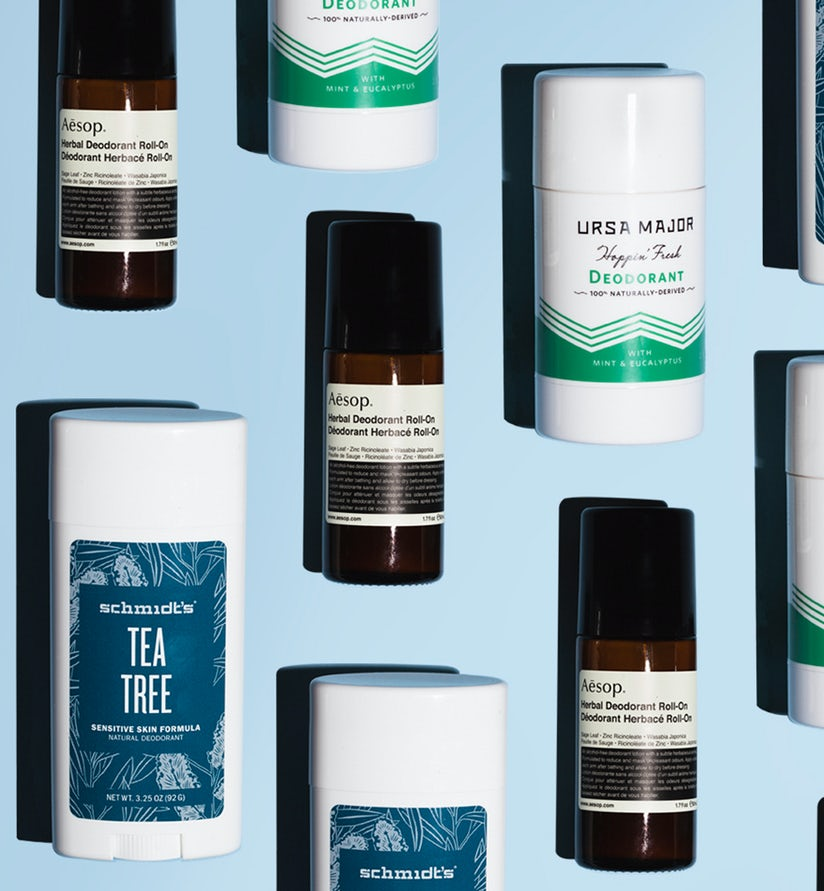 5 Natural Deodorants for 5 Sweaty Dudes - ONE37pm