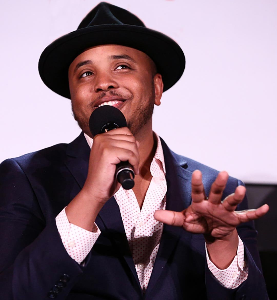 Writerproducer Justin Simien mobile