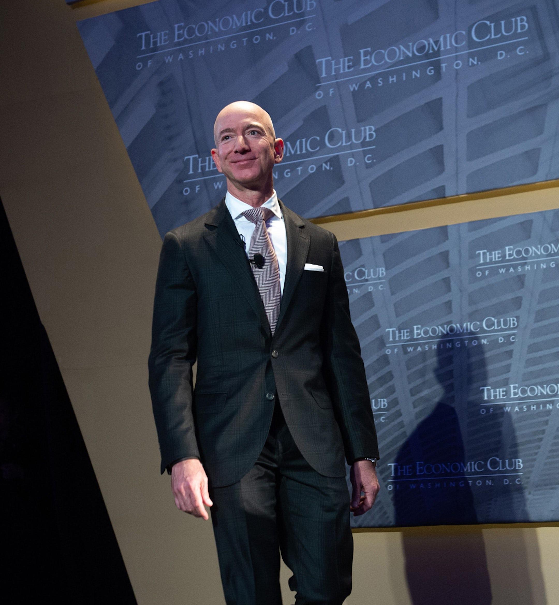 Jeff Bezos powerpoint mobile