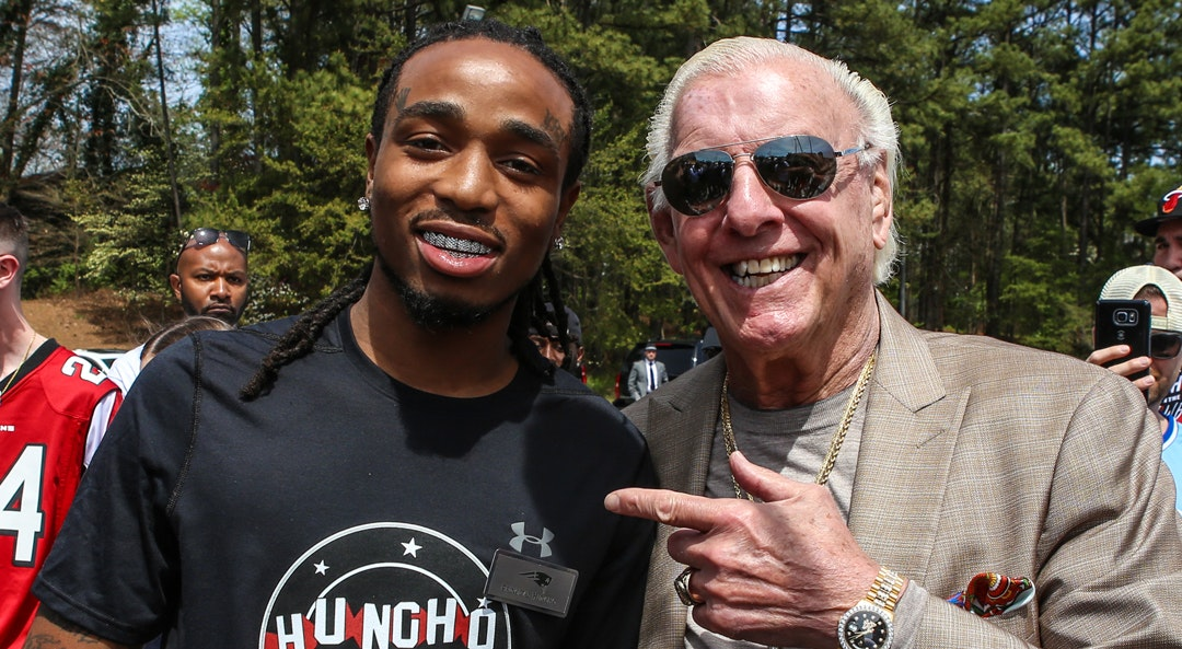 Quavo Ric Flair cat