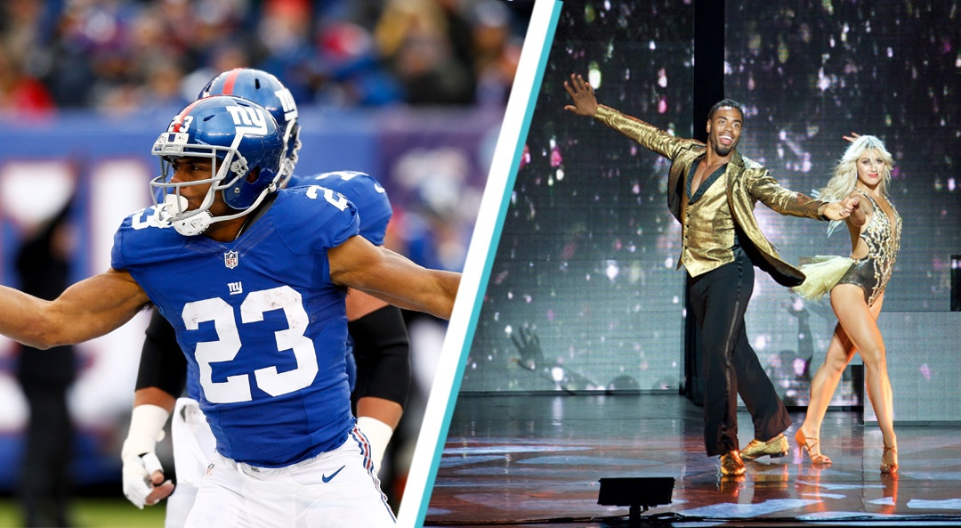 Rashad Jennings New York Giants Dancing With The Stars category