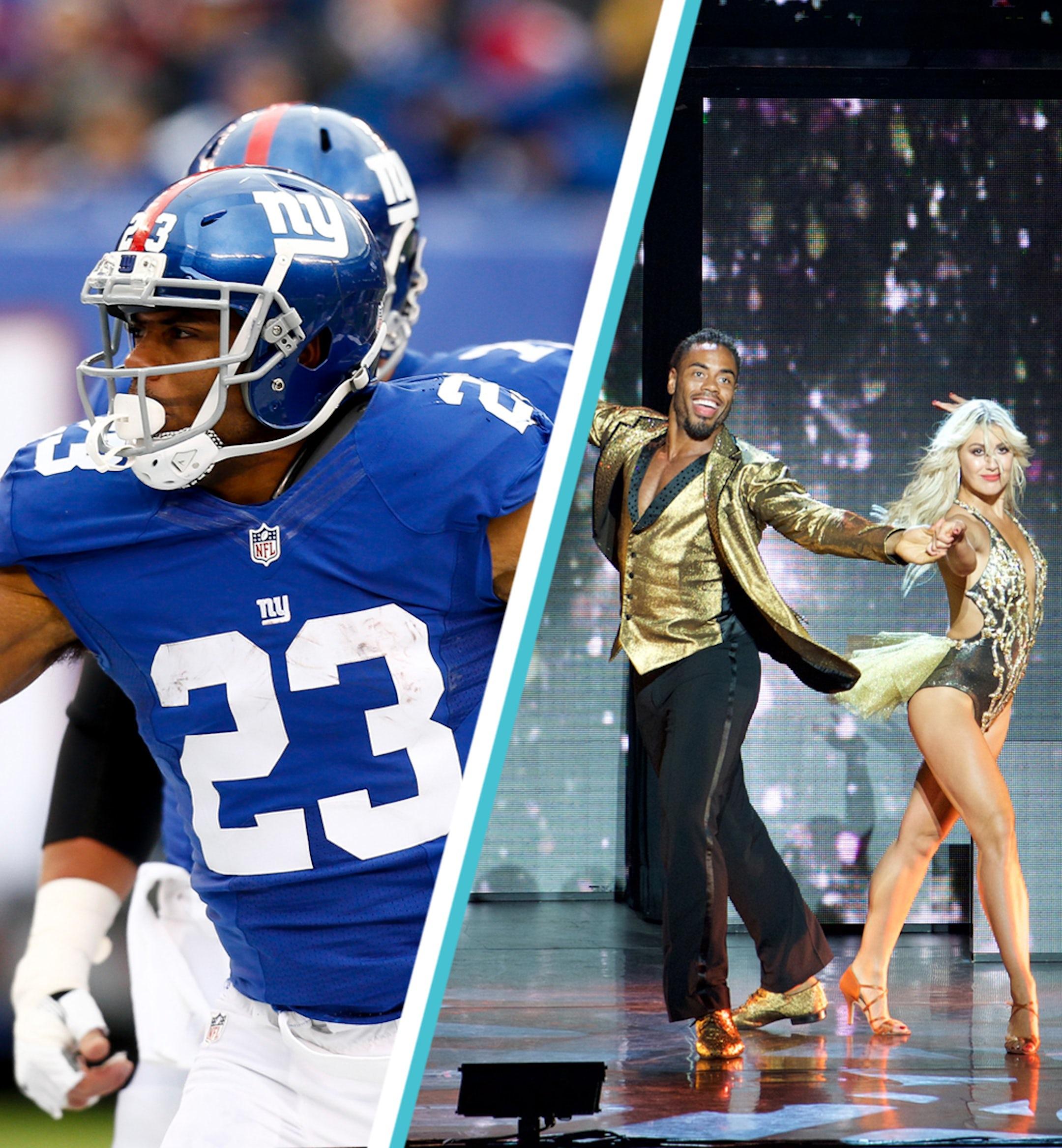 Rashad Jennings New York Giants Dancing With The Stars mobile
