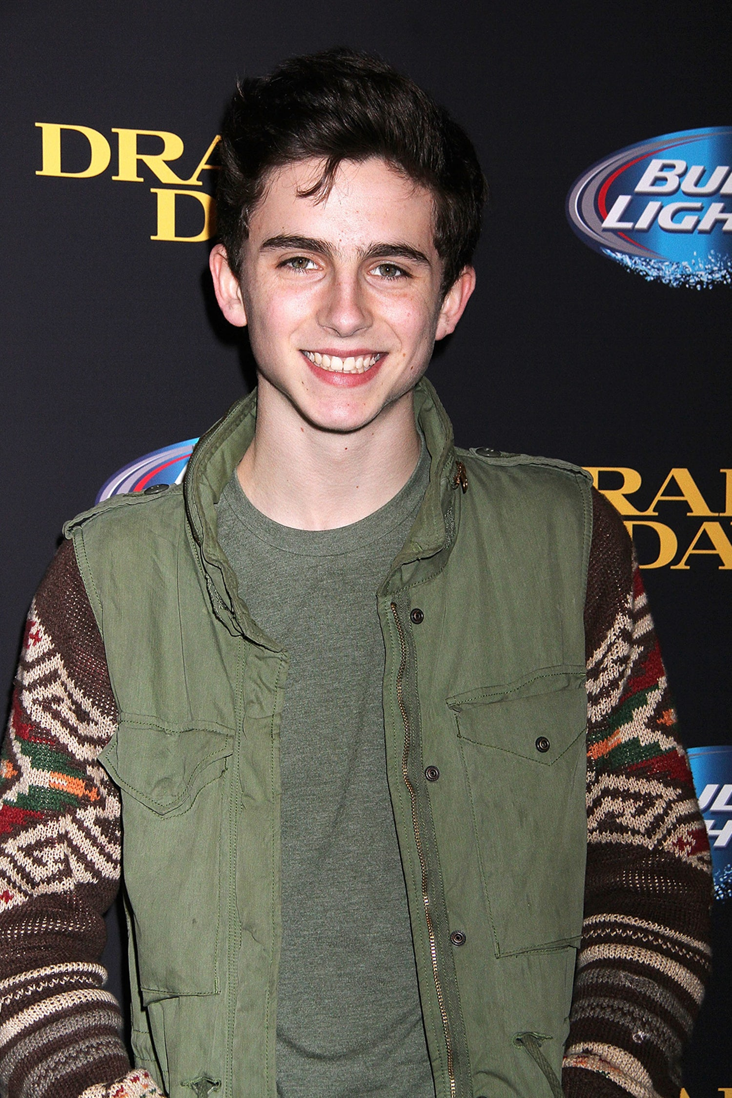 Timothee Chalamet Draft Day inarticle