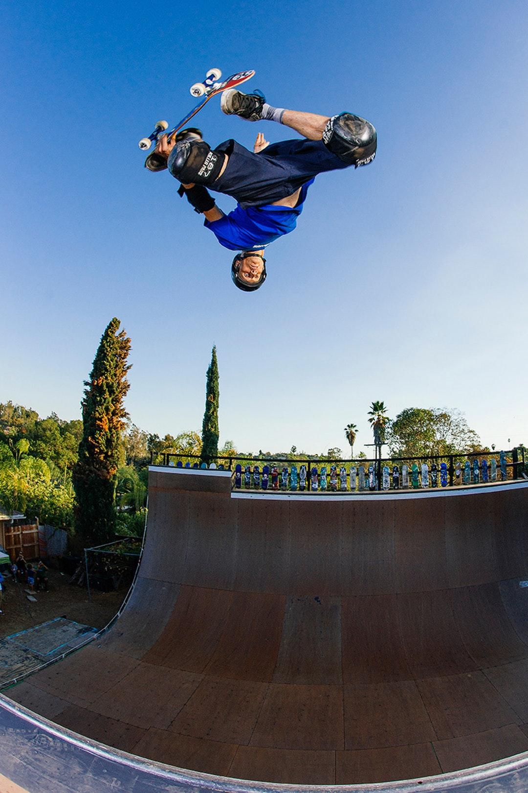 Tony Hawk vertical