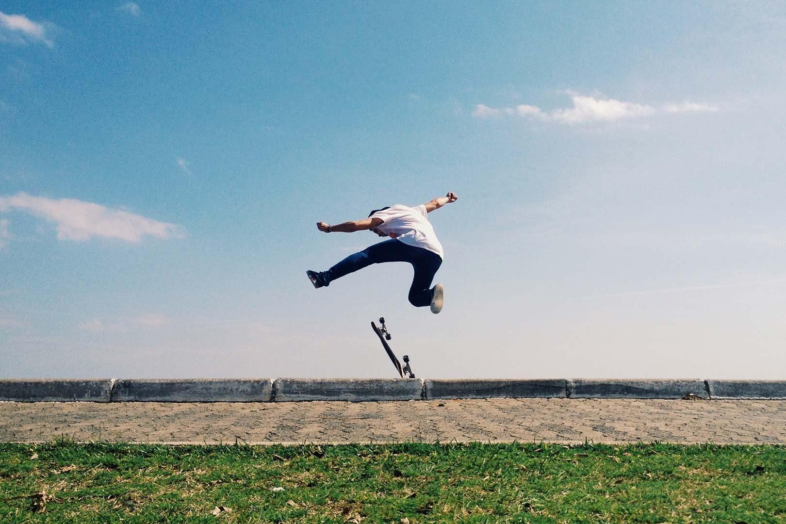 man skateboard jumping 3