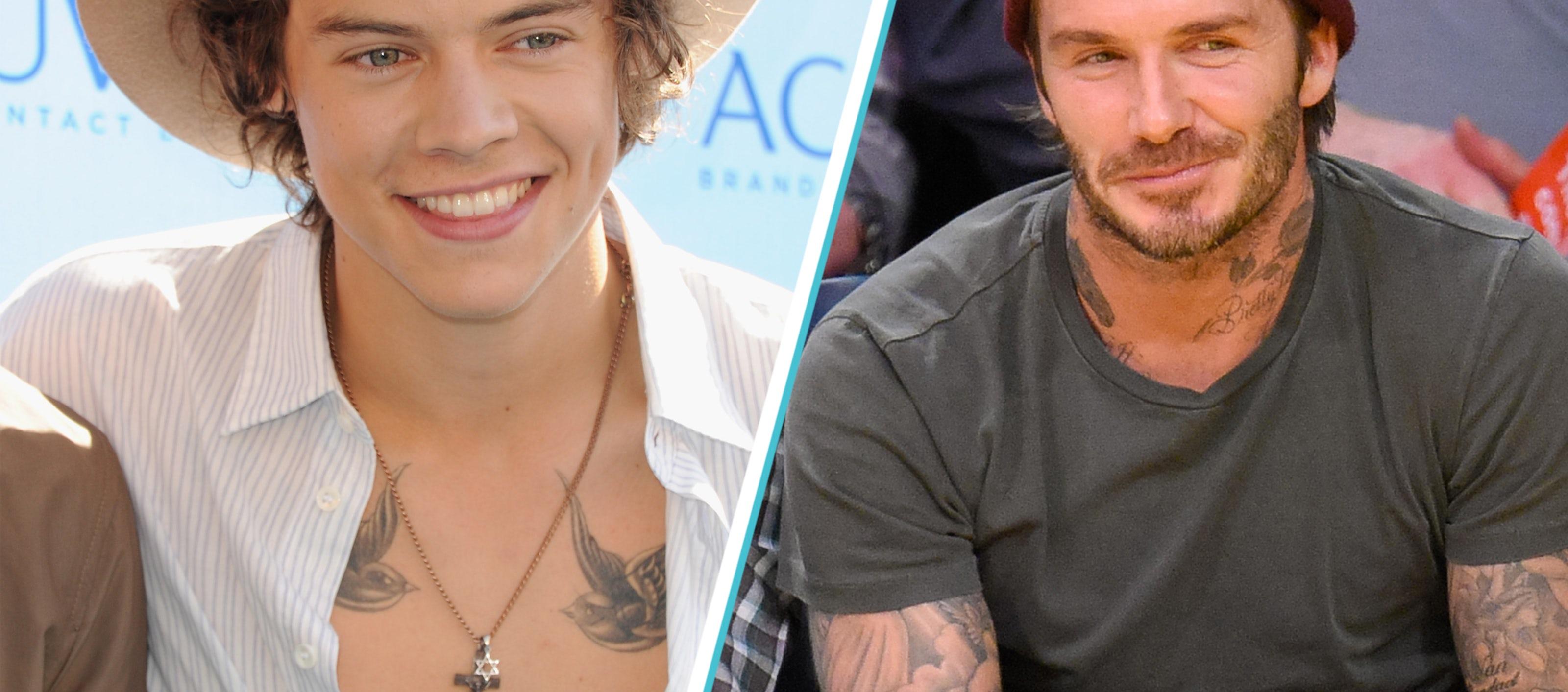 Harry Styles And David Beckham S Tattoo Artist Talks Sleeves One37pm