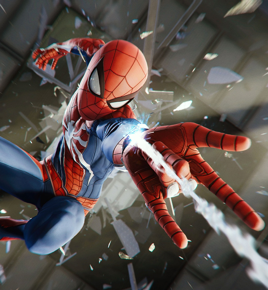 spider man ps4 mobile hero