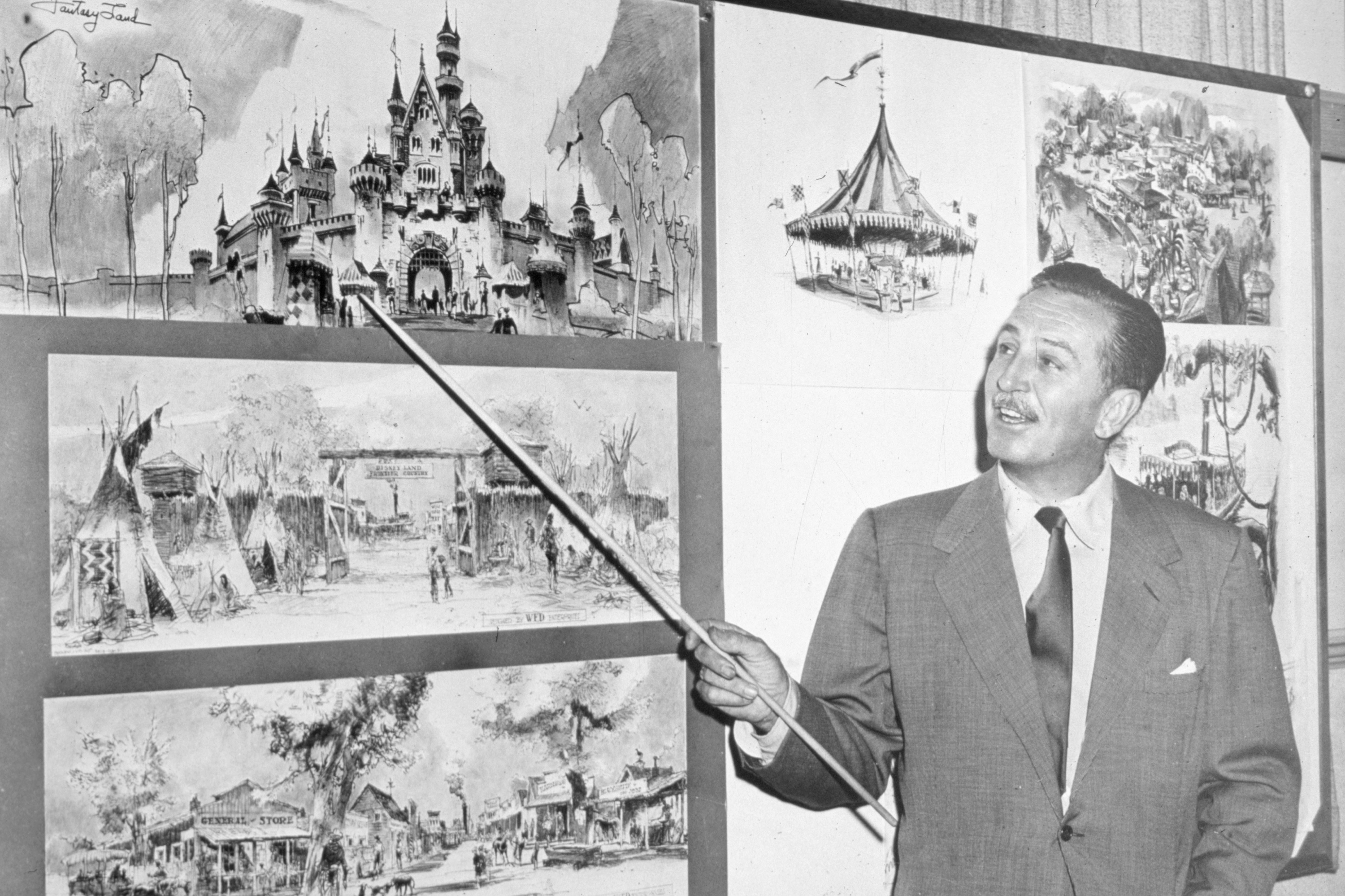 WaltDisneyPresentationDisneyLandDrawings