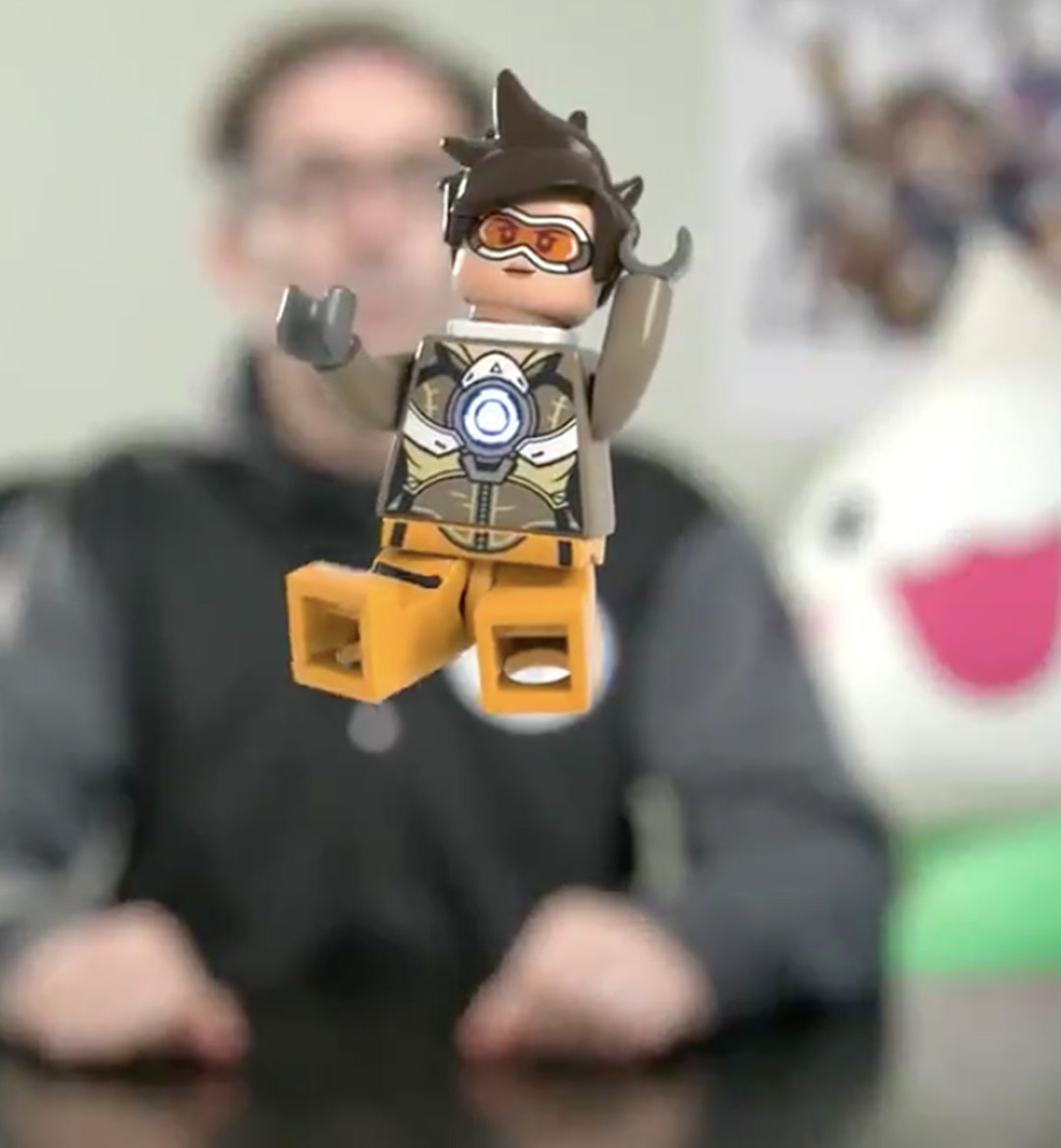 overwatch lego mobile hero