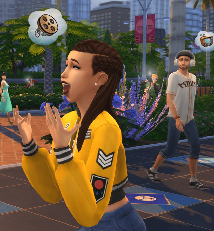 The Sims 4' Now Lets You Become a Social Media Influencer