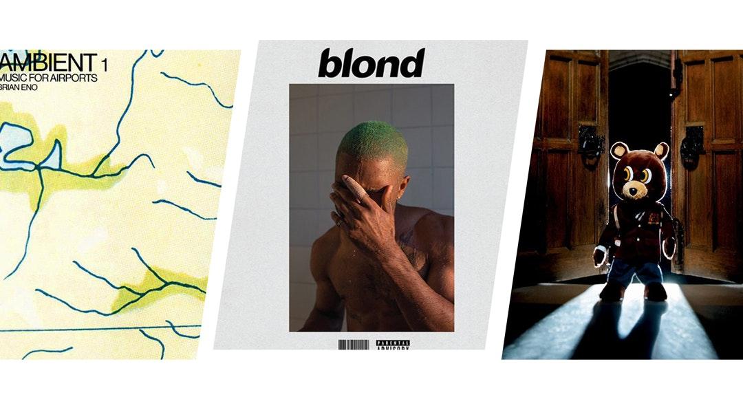 Brian Eno Frank Ocean Kanye cat