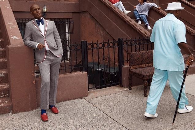 Dapper Dan Gucci tailoring