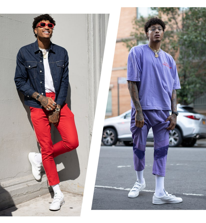 online retailer f4459 ec131 Kelly Oubre Jr. Is the NBA's New Style God // ONE37pm