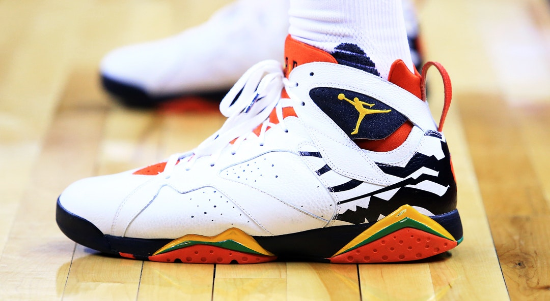 PJ Tucker shoes cat
