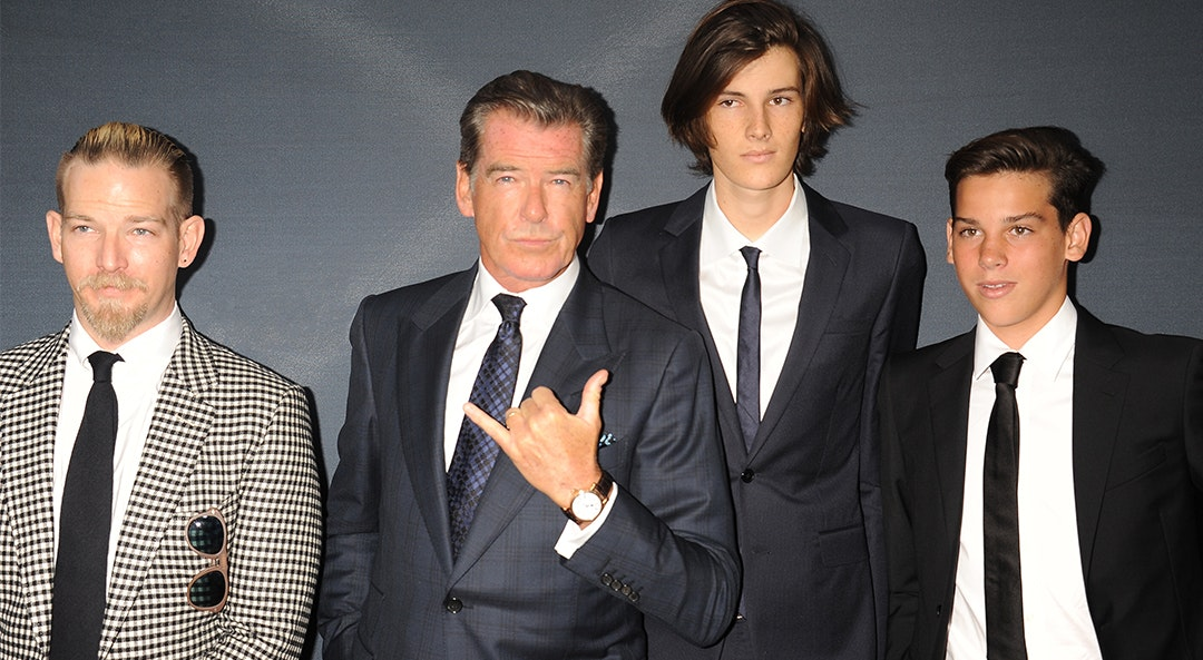 Pierce Brosnan family cat