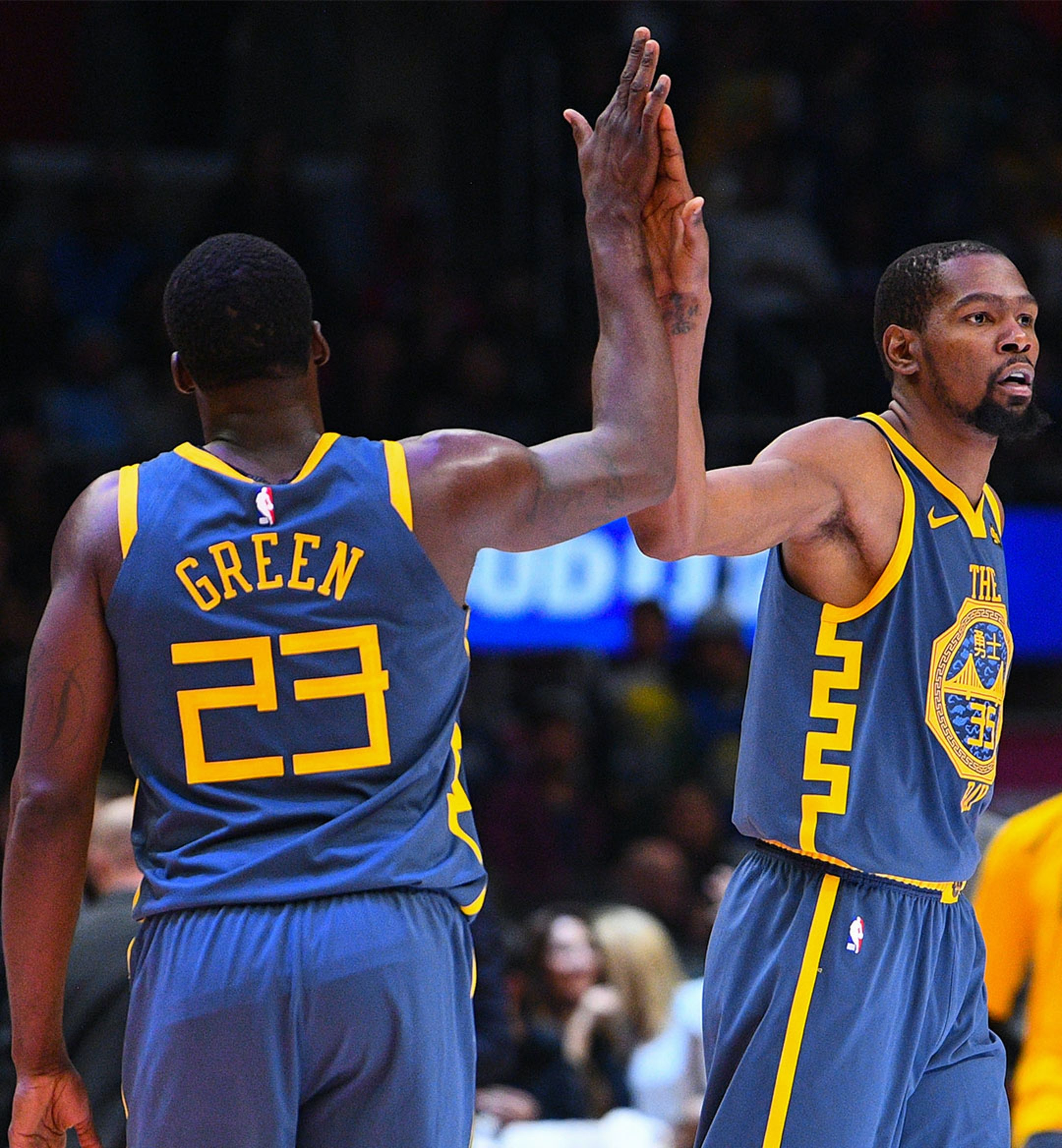draymond green kevin durant mobile image