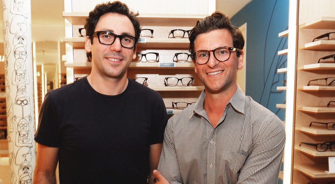 warby parker founders cat