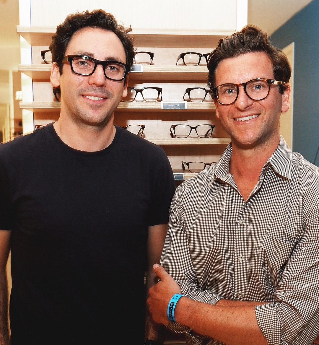 warby parker founders mobile