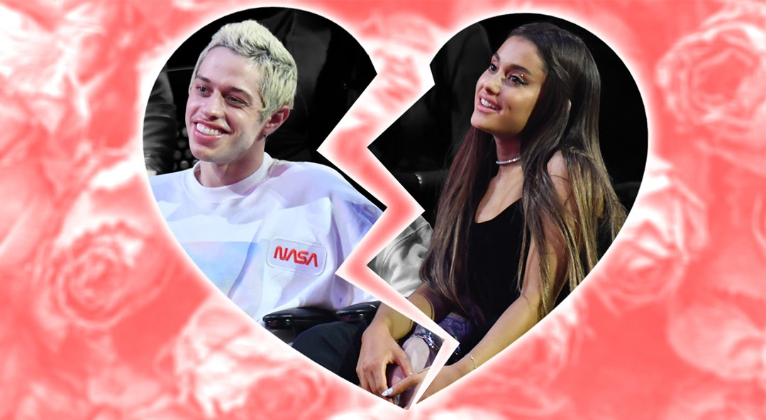 Ariana Pete Davidson breakup cat