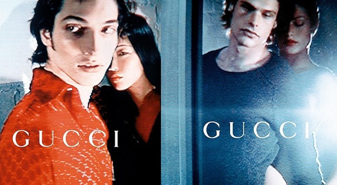 Gucci ad 1997 cat