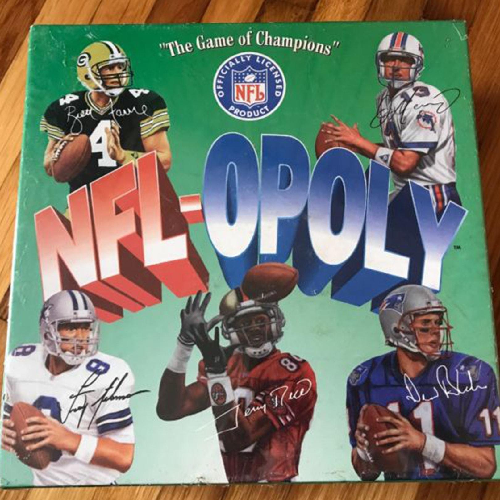 NFL opoly One37pmholidaychildhoodgift