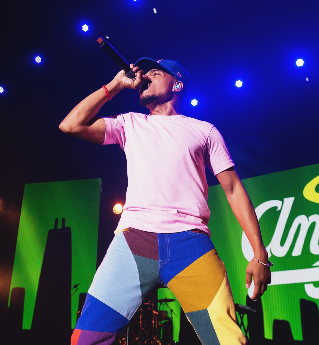 chance the rapper special olympics 2018 mobile