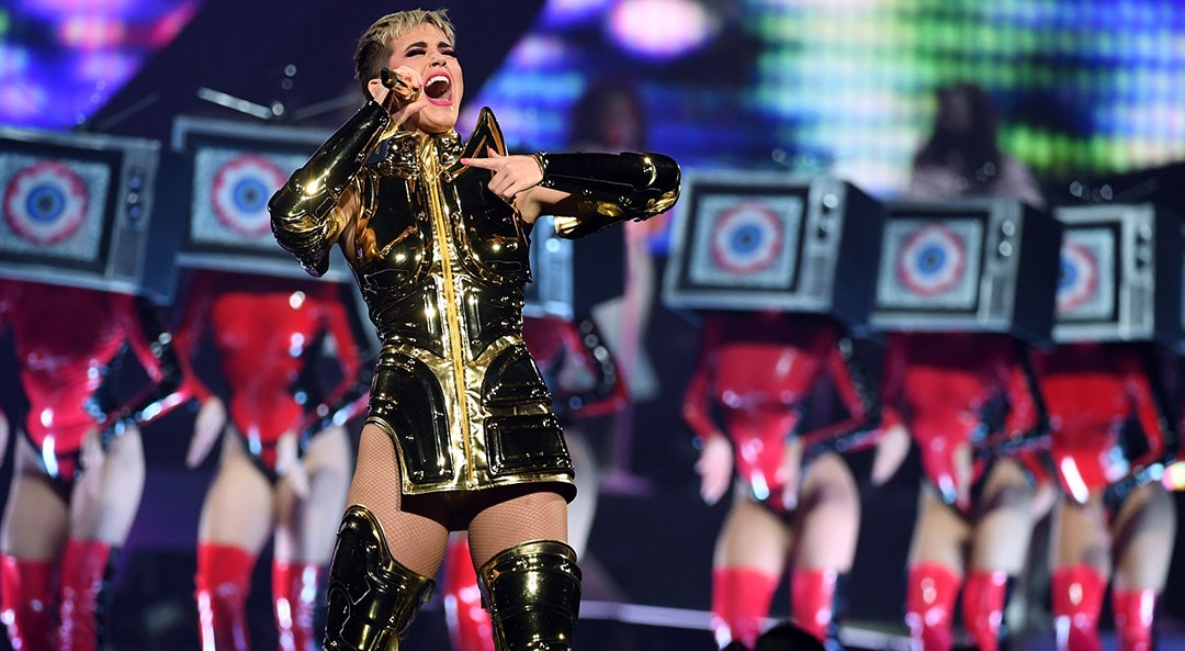 katy perry highest paid category