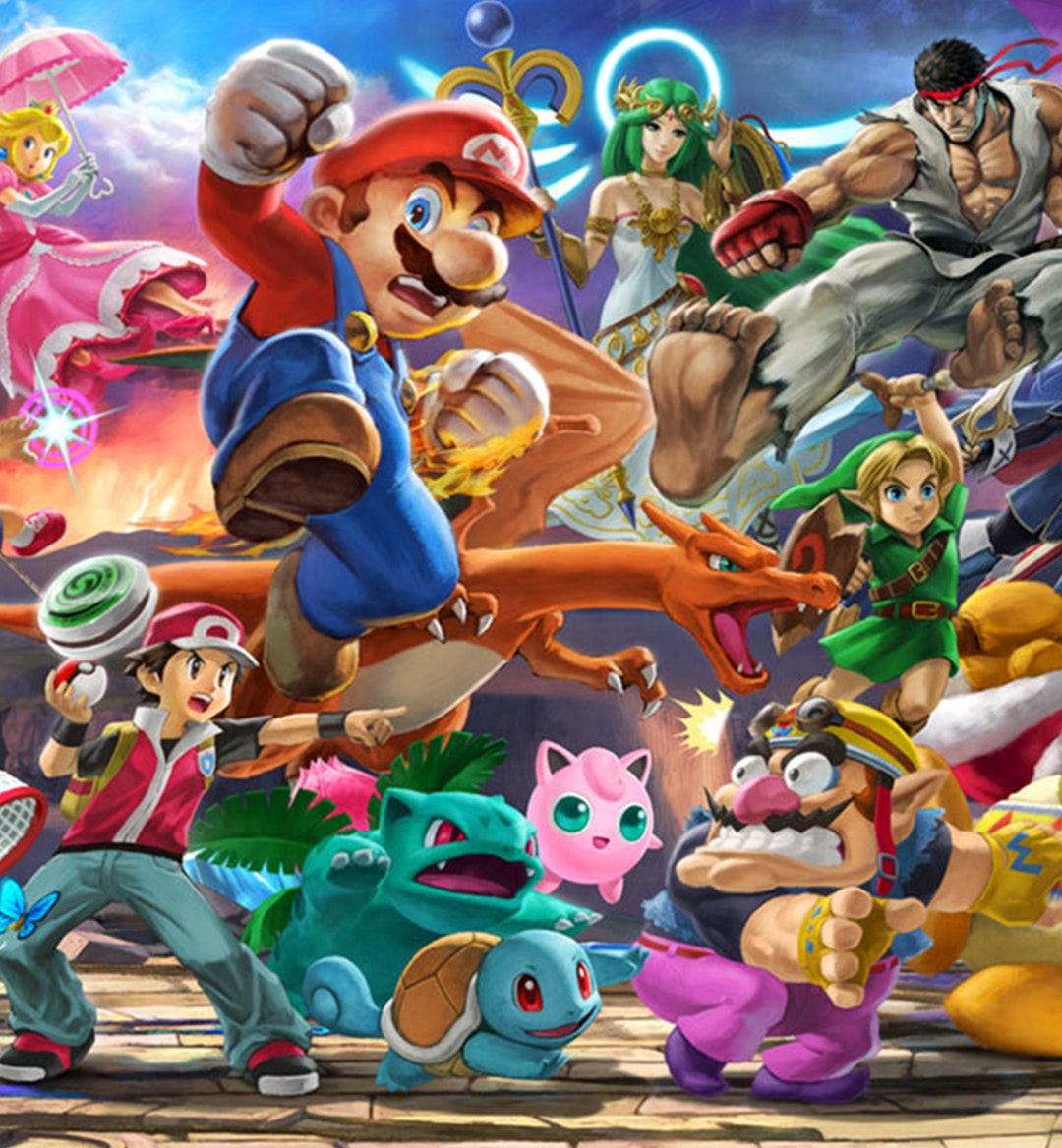 smash bros ultimate party mobile