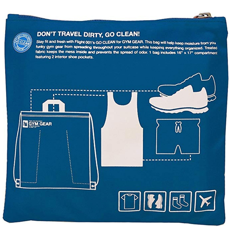 Flight go clean gym bag