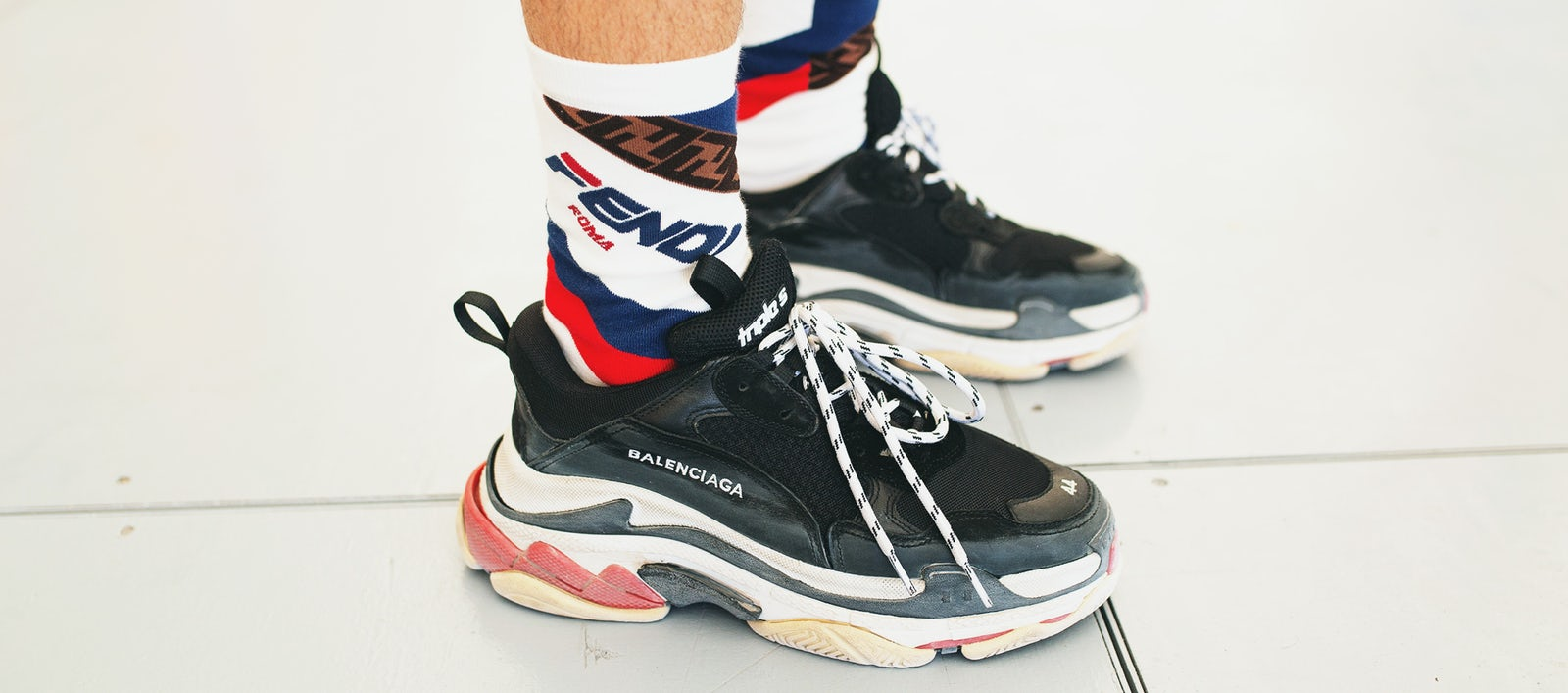 5ed10f28a826 balenciaga sneakers desktop. Matthew Sperzel Getty Images
