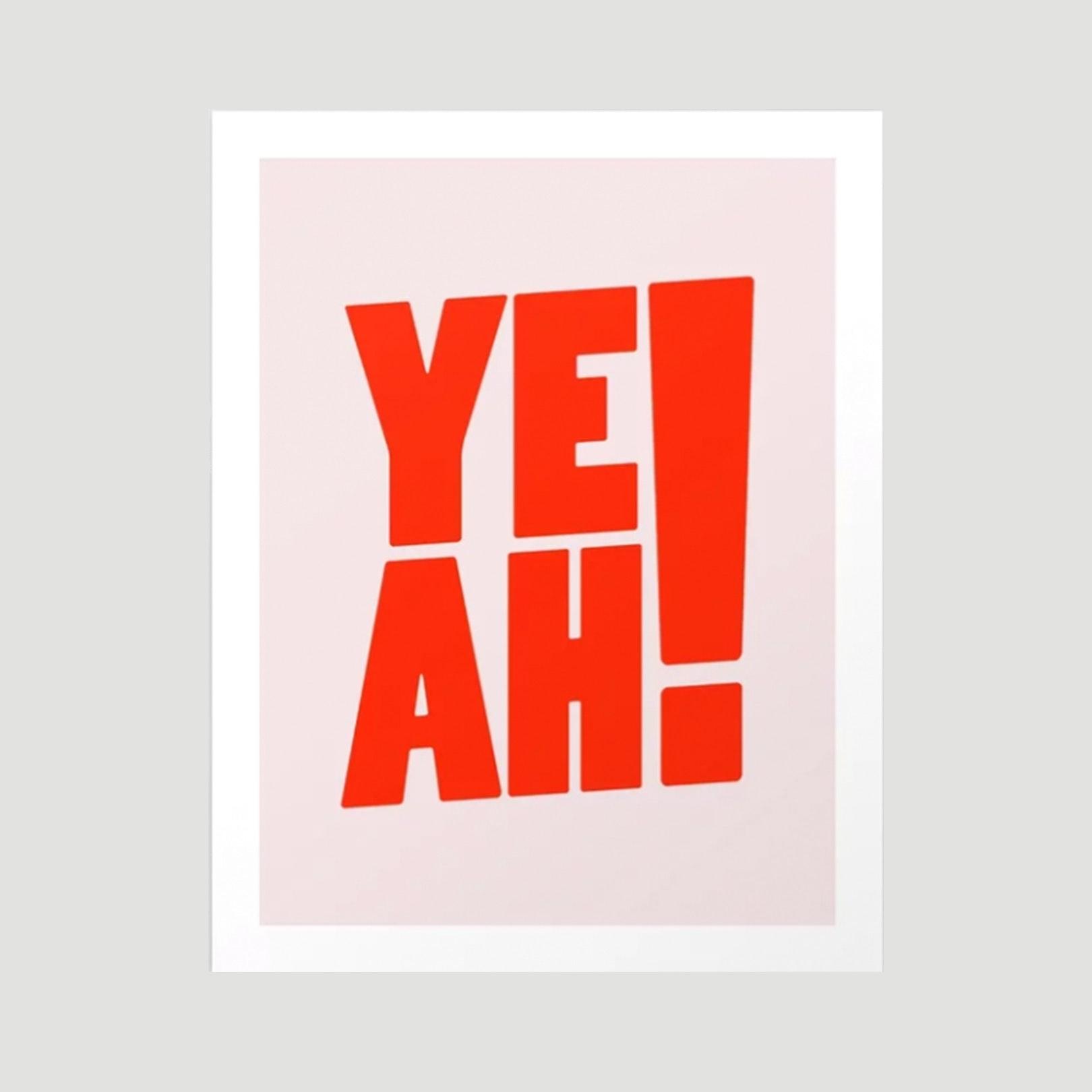 yeah poster