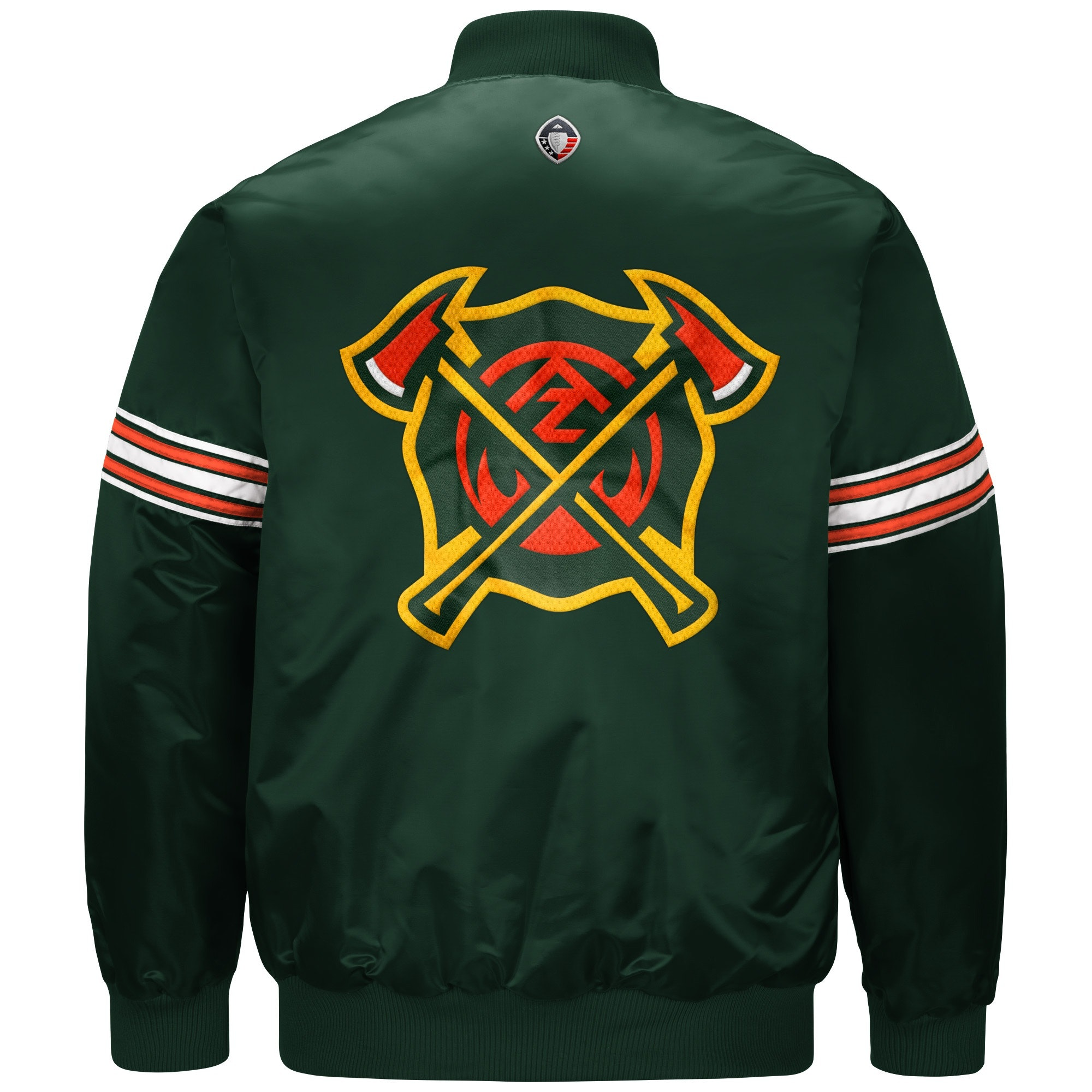 48cba709de8 Get Your First Look at Starter s AAF Varsity Jackets    ONE37pm