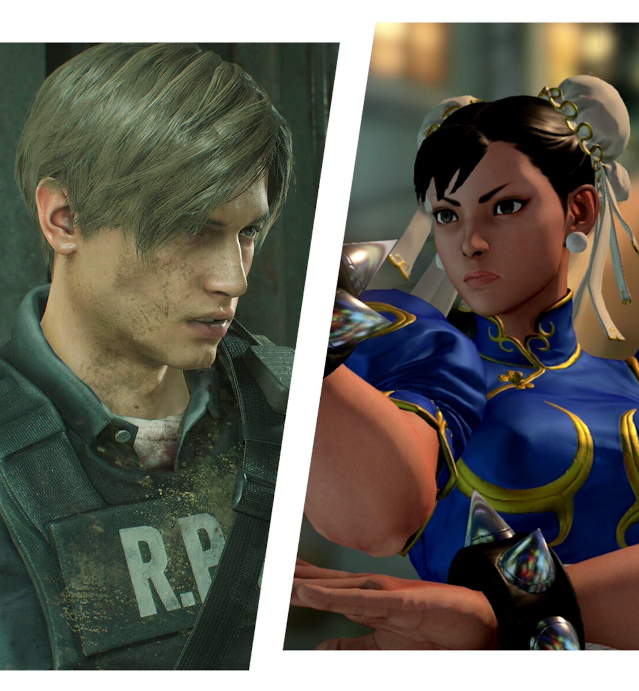 Resident Evil 2 Street Fighter V Devil May Cry 5 mobile
