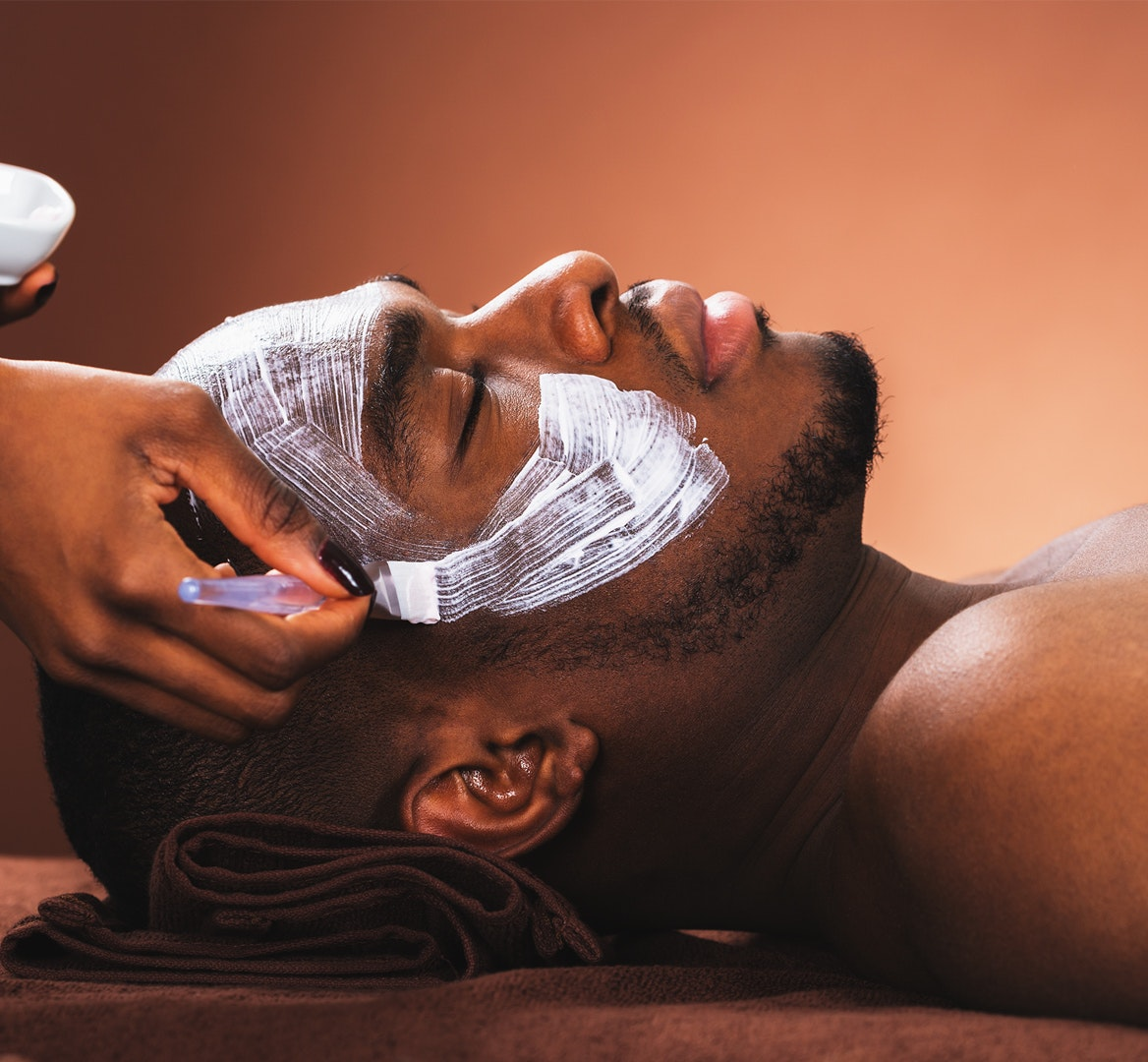 facial mask men mobile