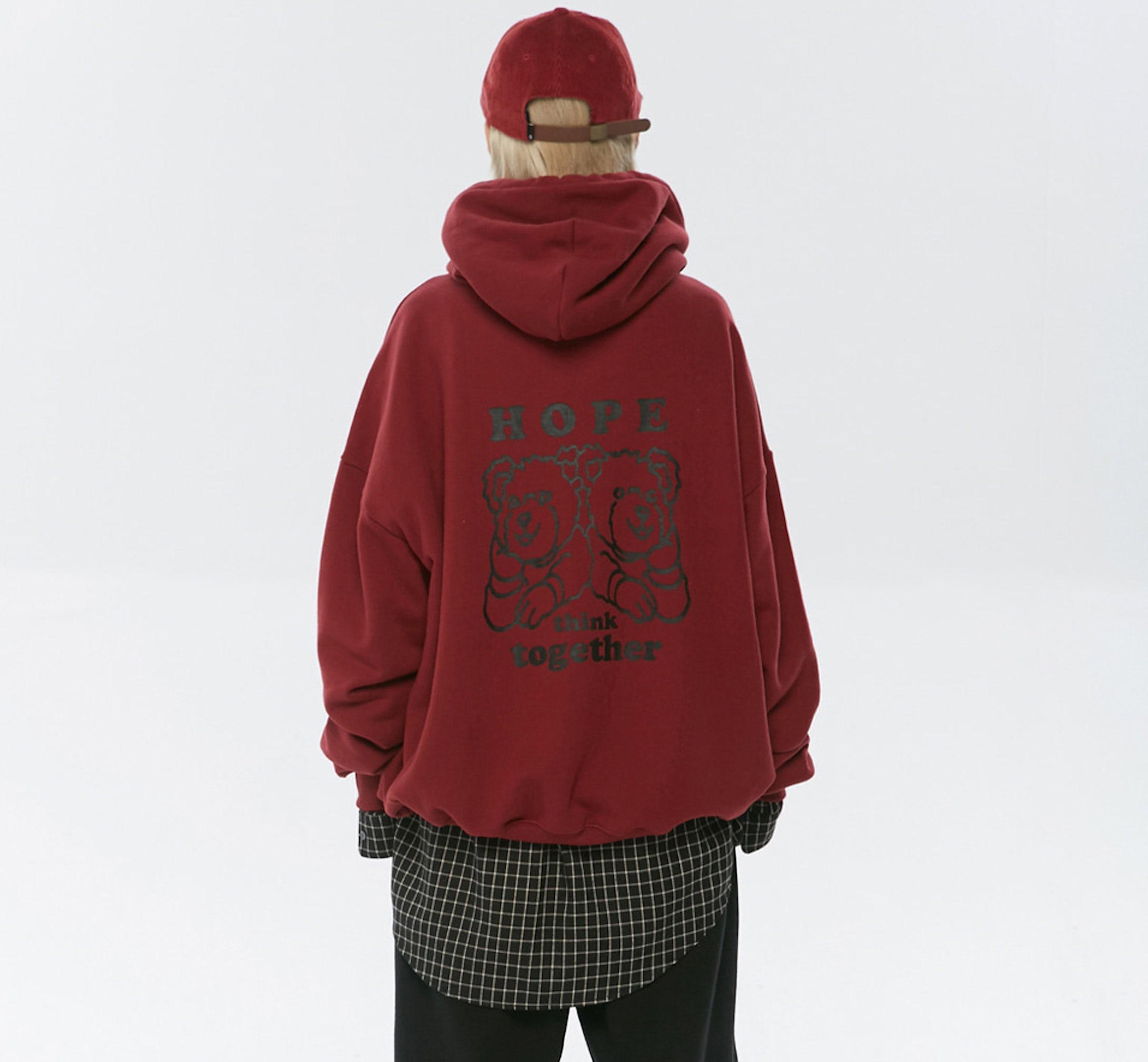 hope hoodie mobiel