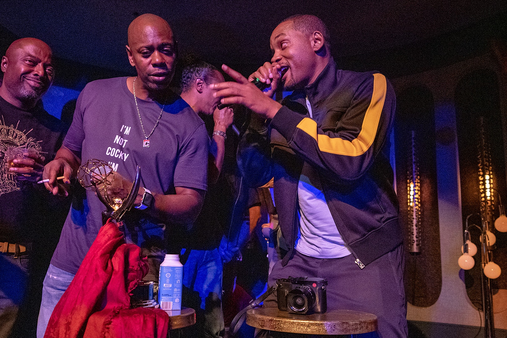 dave chappelle will smith facebook in line