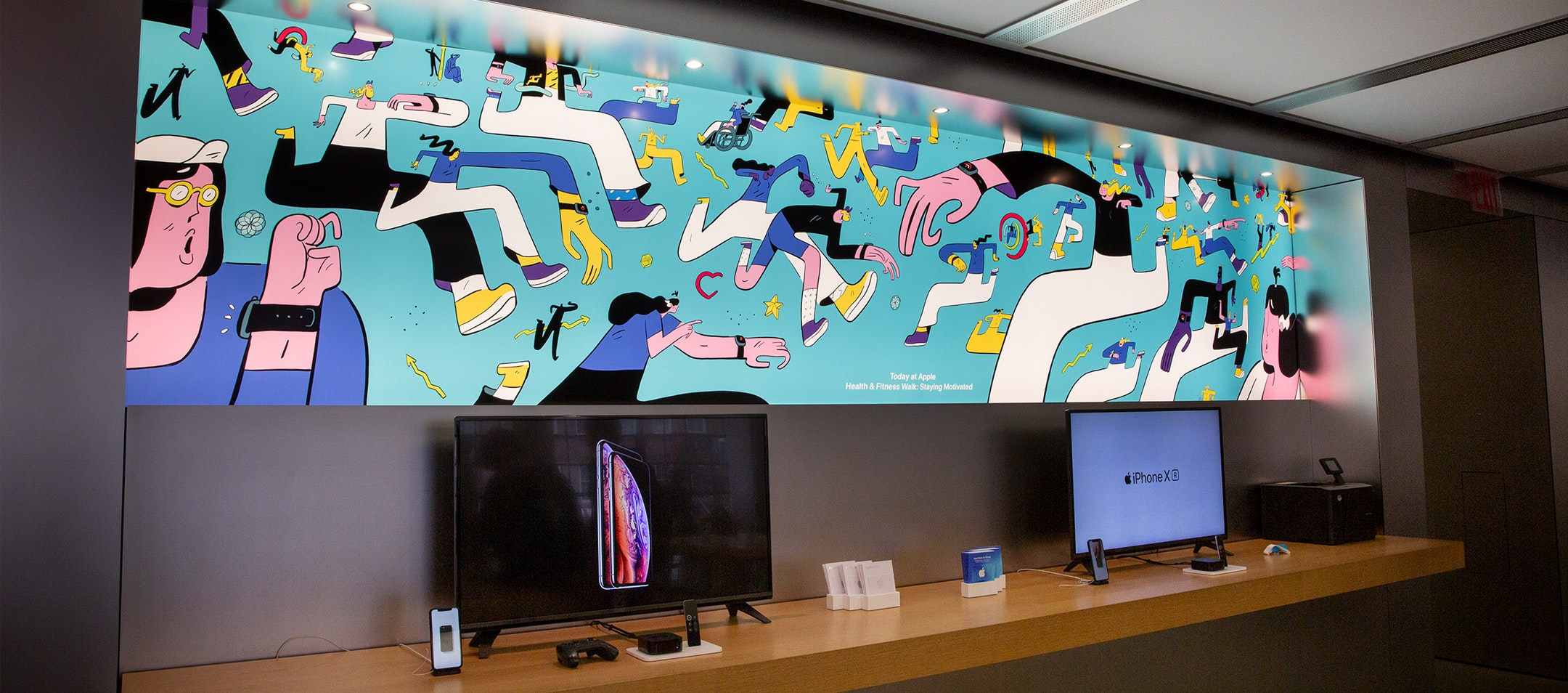 Apple store illustrations desktop