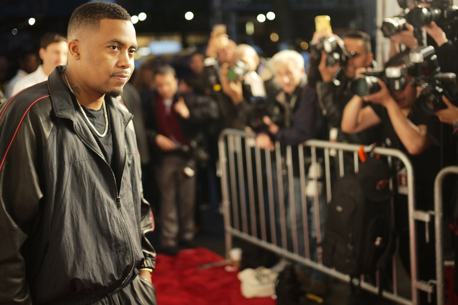 Nas and Dave East Celebrate Wu-Tang Clan at Tribeca Film