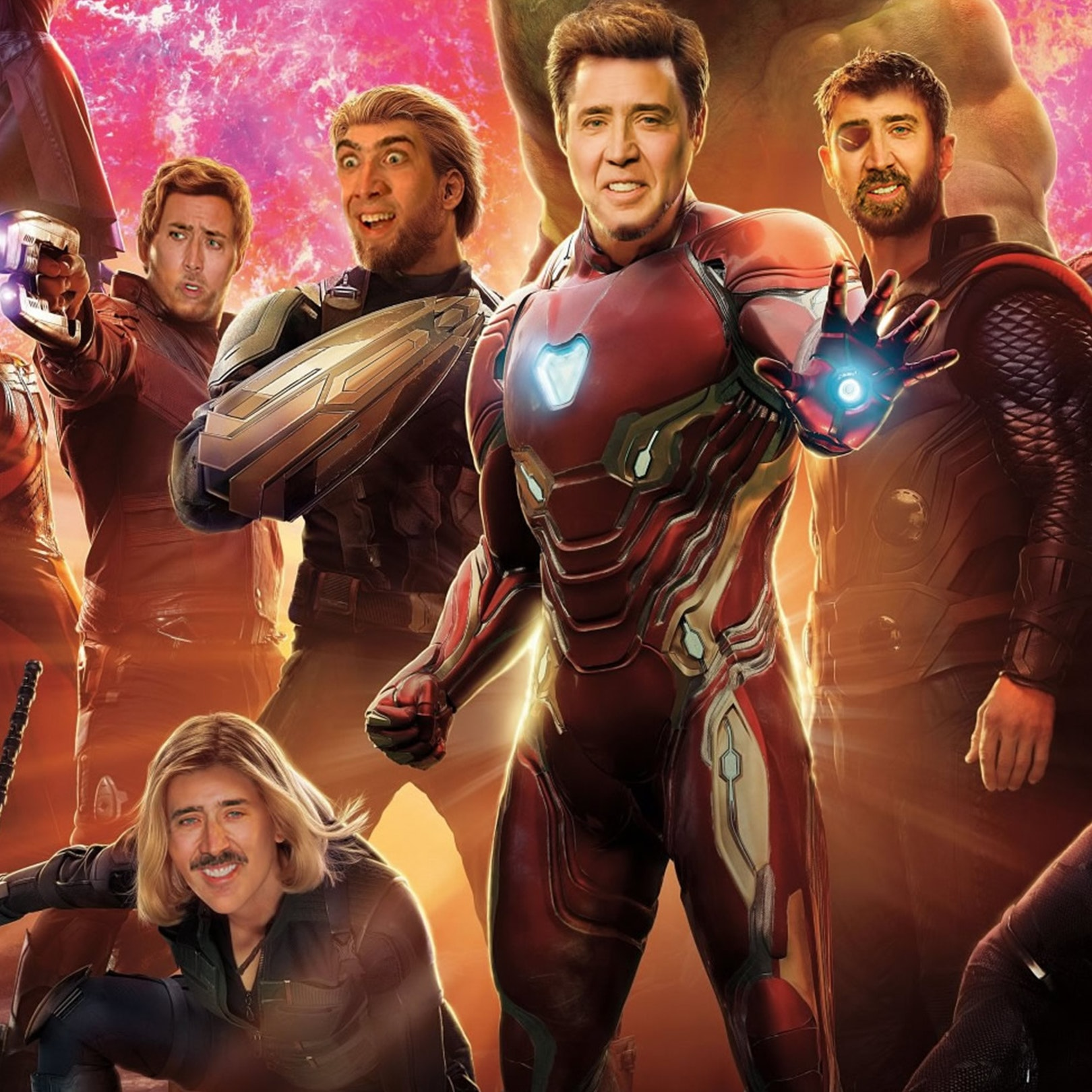 nic cage avengers in article