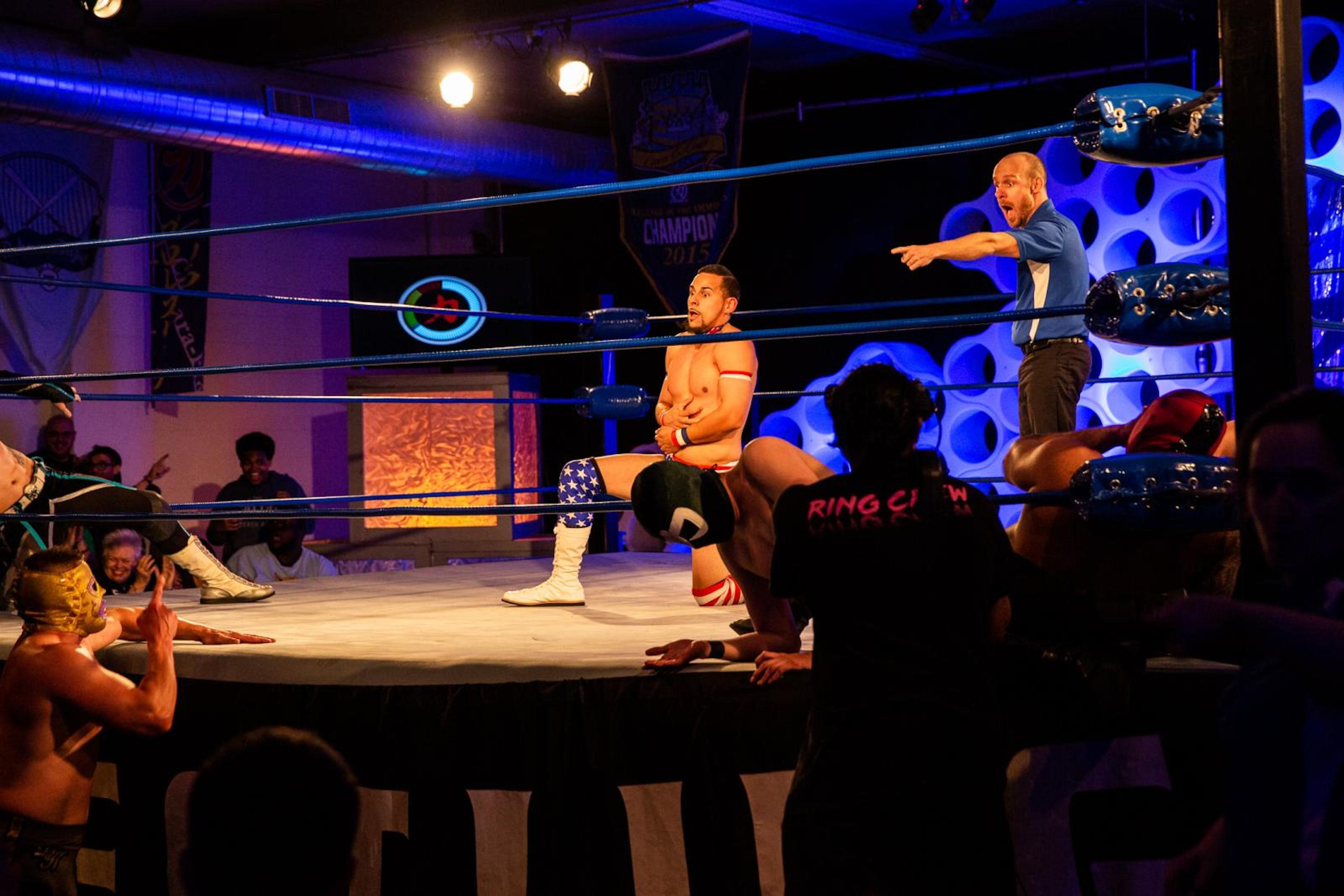 Chikara wrestling 2628