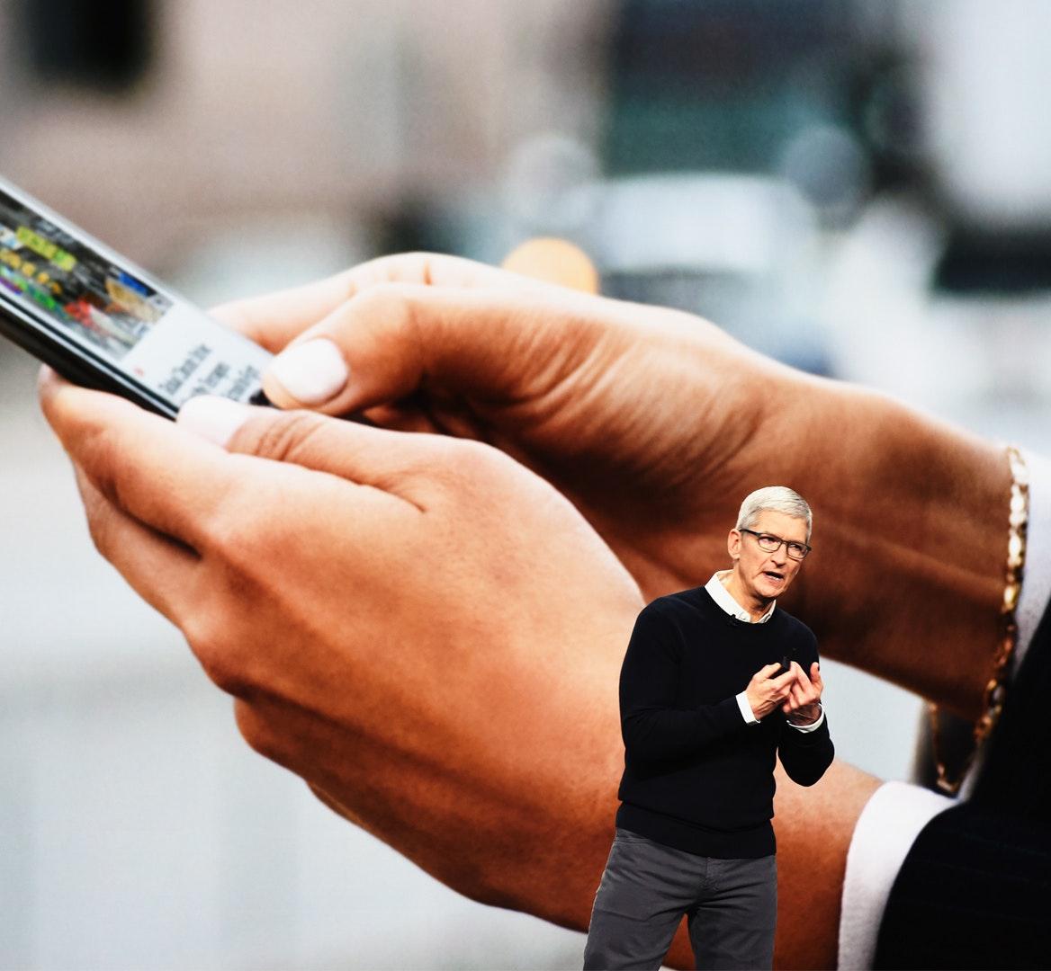 Tim Cook Apple Tv mobiel