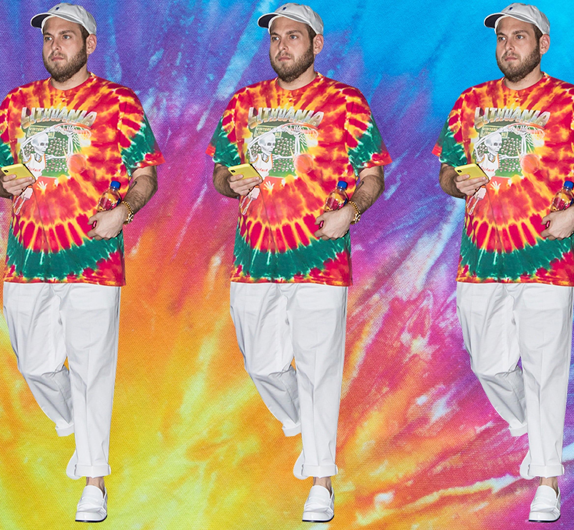Tye dye mens style desktop