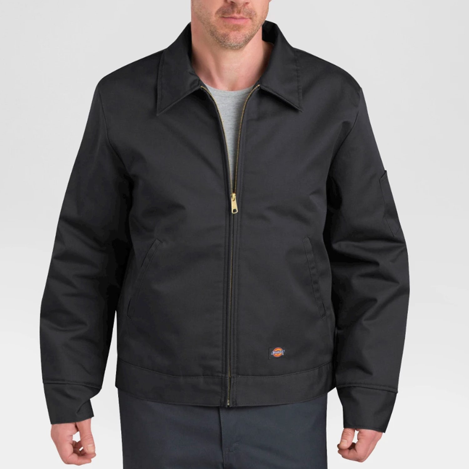 kanye west dickies jacket black