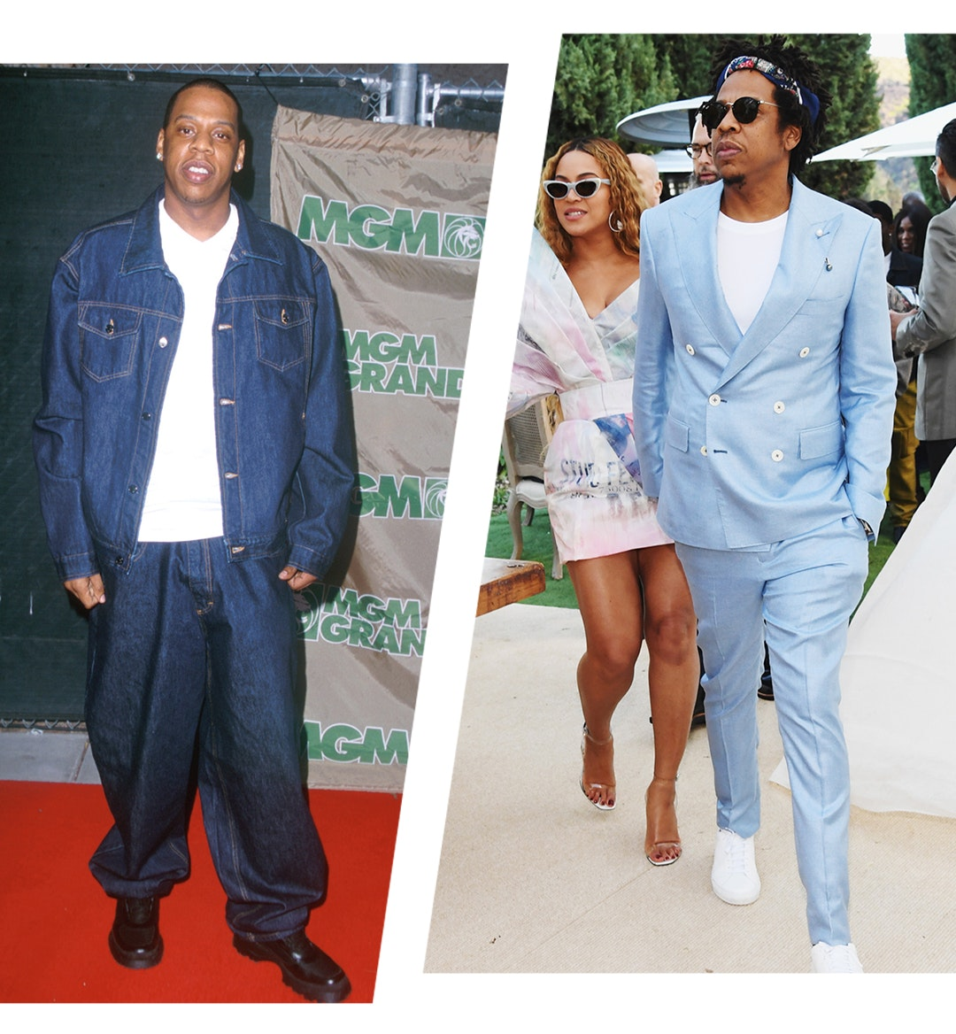 Then And Now Fashion From Jay Z The Rock And More In 1999 And 2019 One37pm