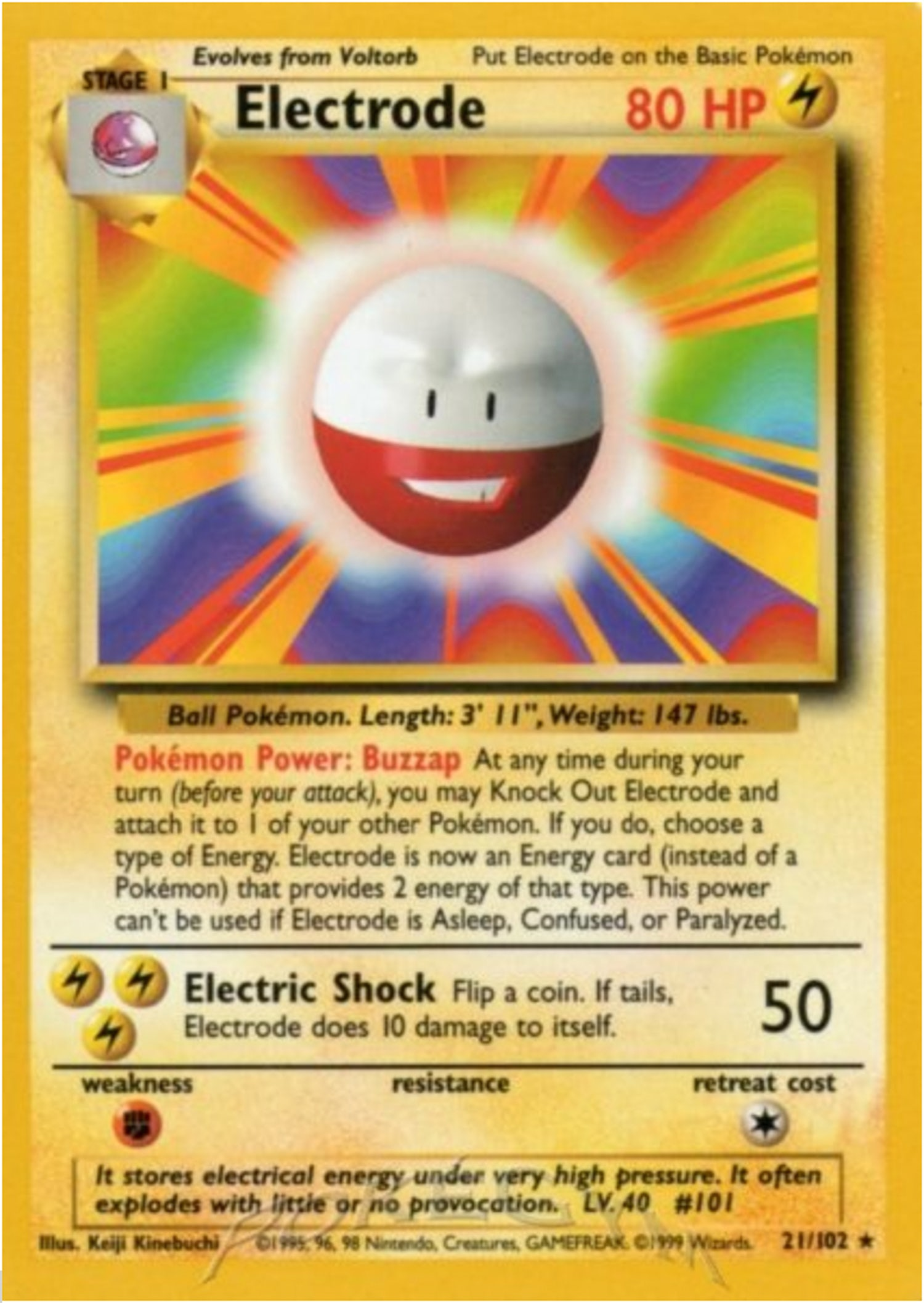 Pokemon electrode
