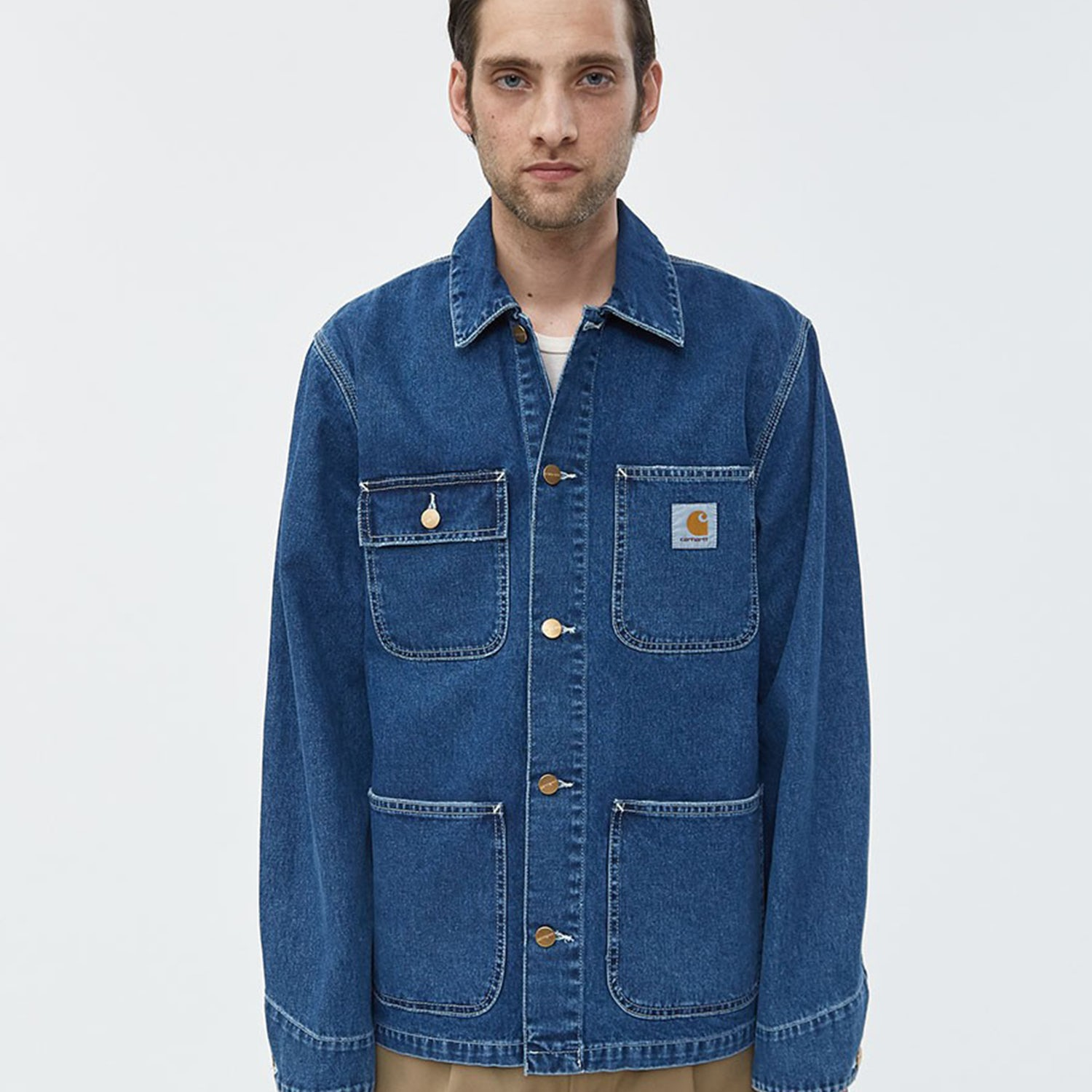 carhartt denim jacket
