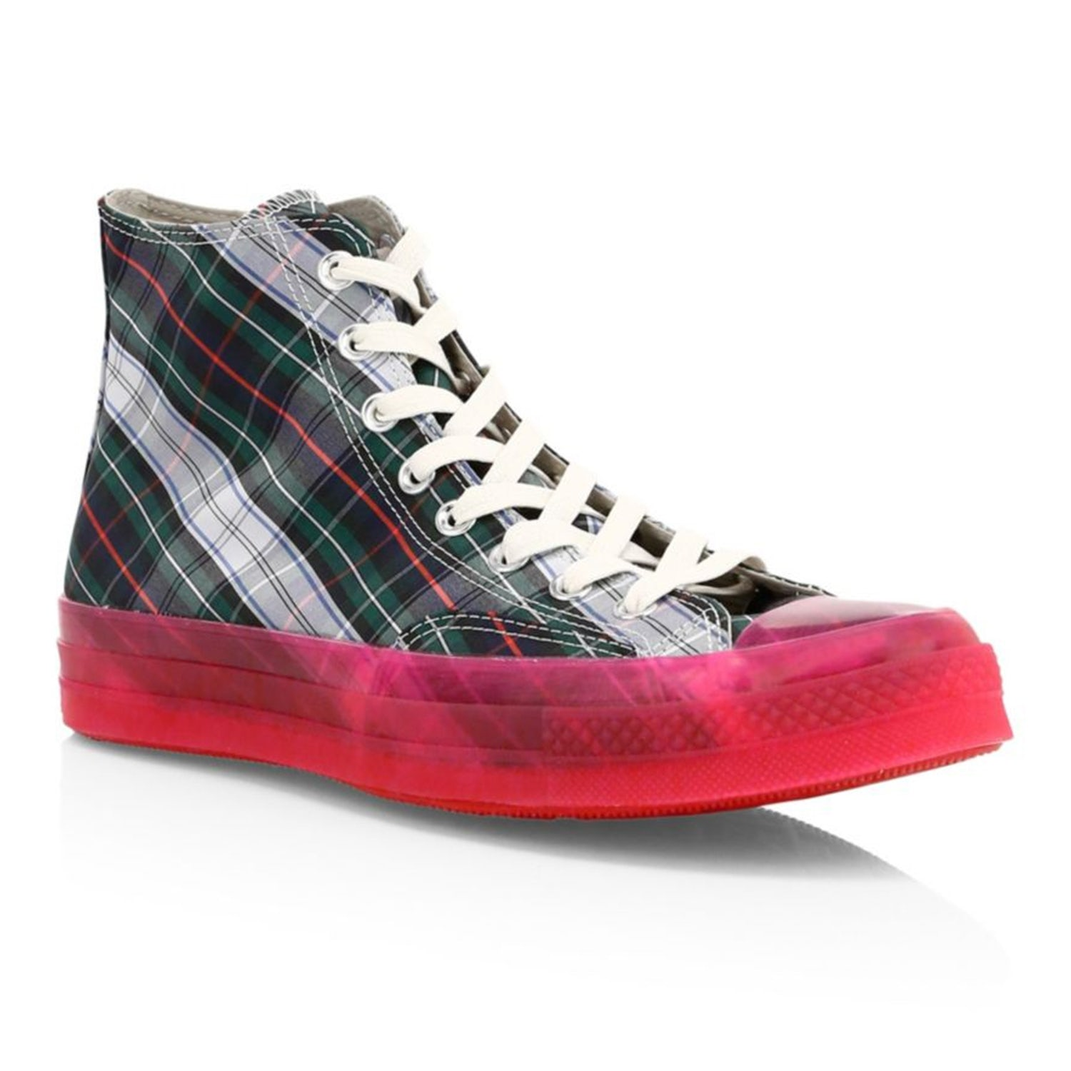 converse plaid translucent