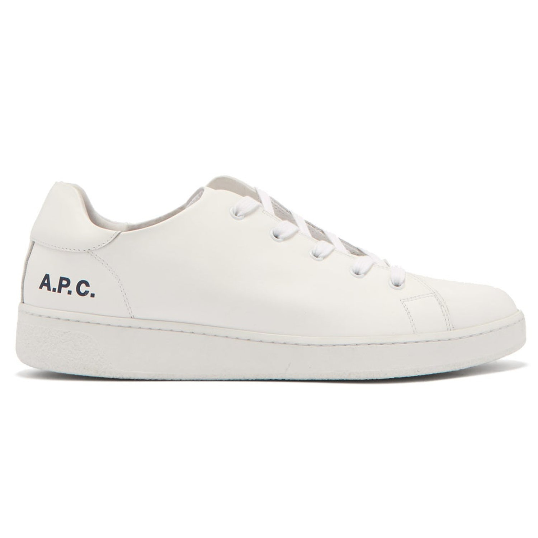 wimbledon white sneaker apc