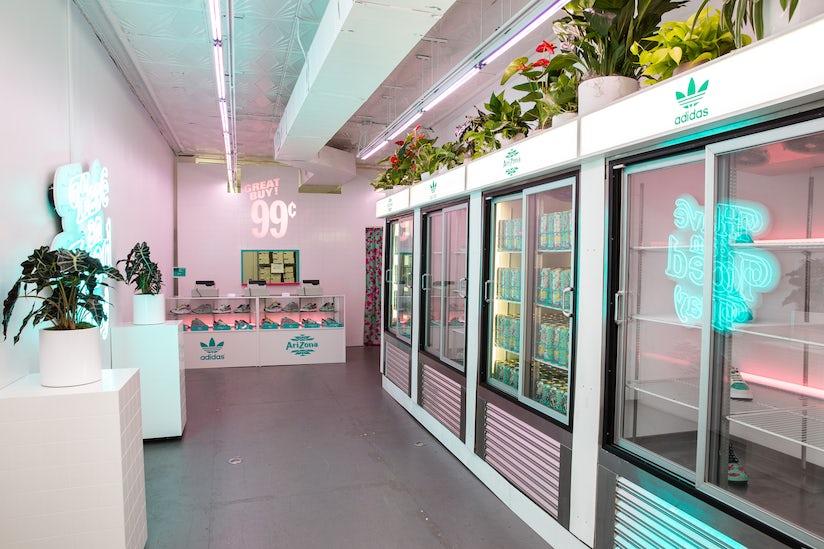 Adidas Originals Collaborates with AriZona Iced Tea for a